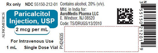 PACKAGE LABEL-PRINCIPAL DISPLAY PANEL - 2 mcg per mL Container Label