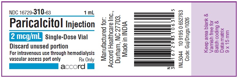 2mcg per mL vial label