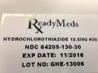Hydrochlorothiazide | Readymeds Breastfeeding