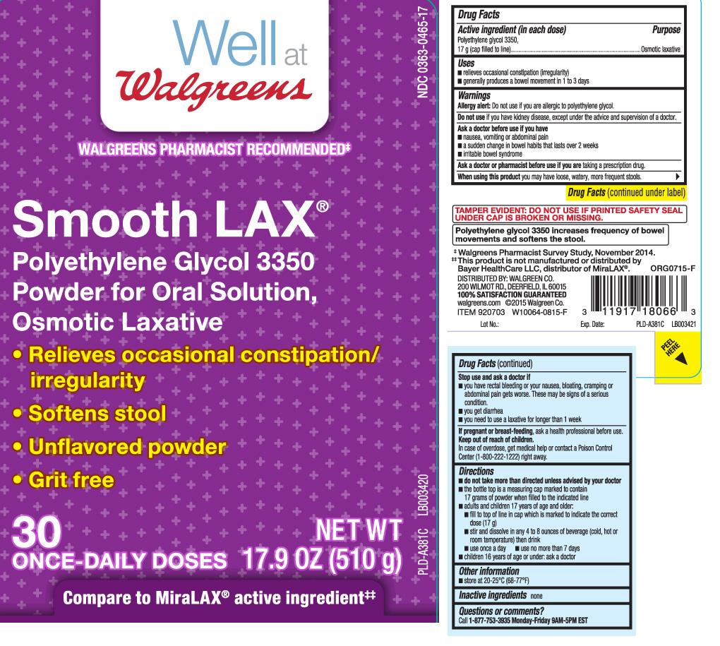 Smooth Lax   Polyethylene Glycol Powder Breastfeeding