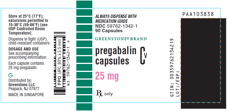 PRINCIPAL DISPLAY PANEL - 25 mg Capsule Bottle Label