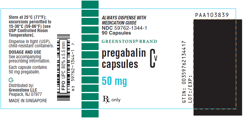 PRINCIPAL DISPLAY PANEL - 50 mg Capsule Bottle Label
