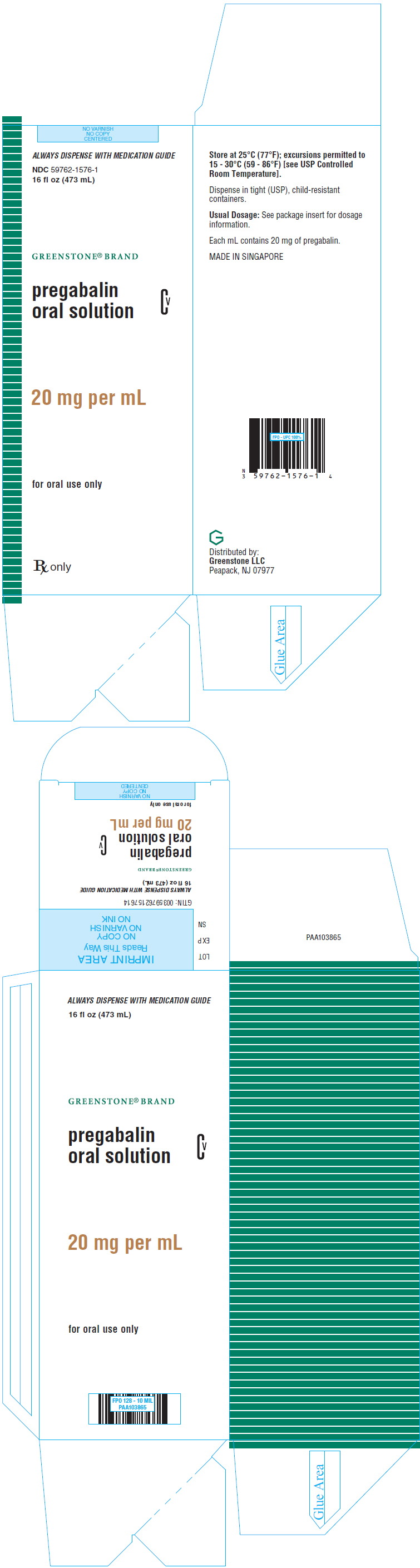 PRINCIPAL DISPLAY PANEL - 473 mL  Bottle Carton