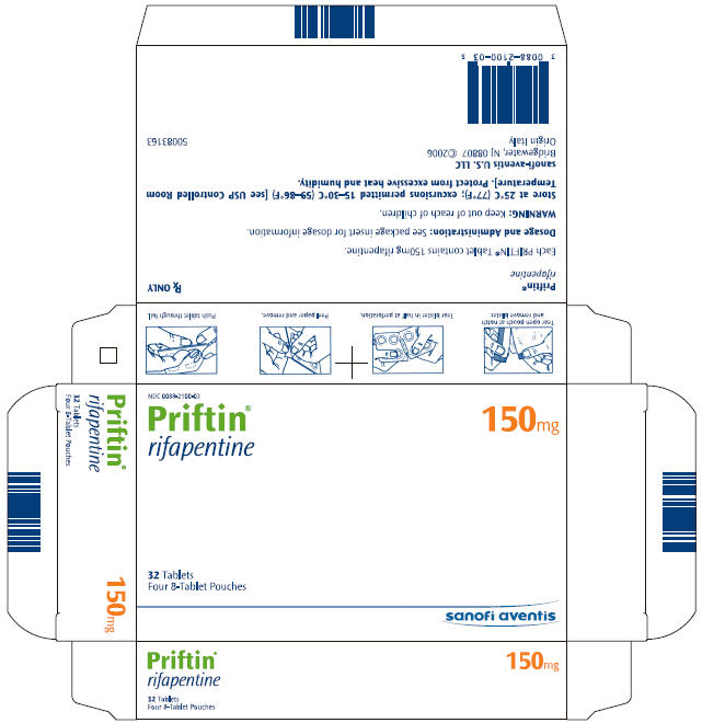 PRINCIPAL DISPLAY PANEL - 150 mg carton
