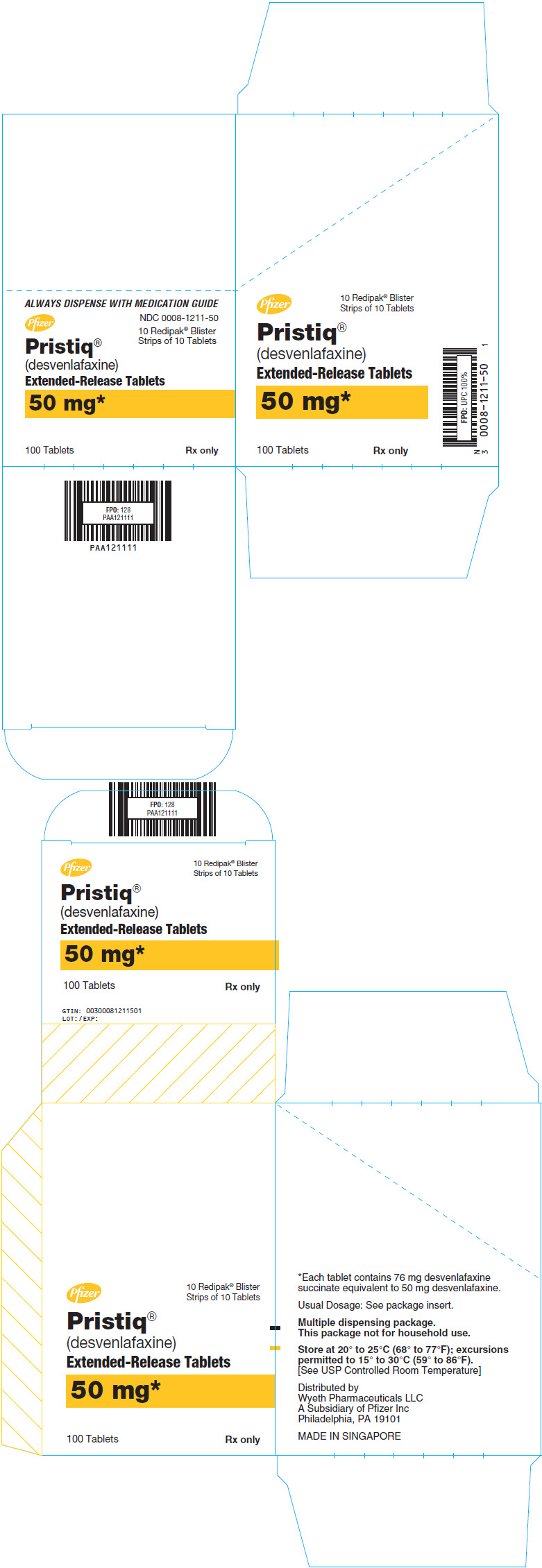 Principal Display Panel - 50 mg Tablet Blister Pack Carton