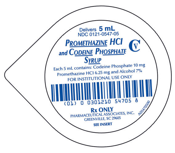 PRINCIPAL DISPLAY PANEL - 5 mL Cup Label
