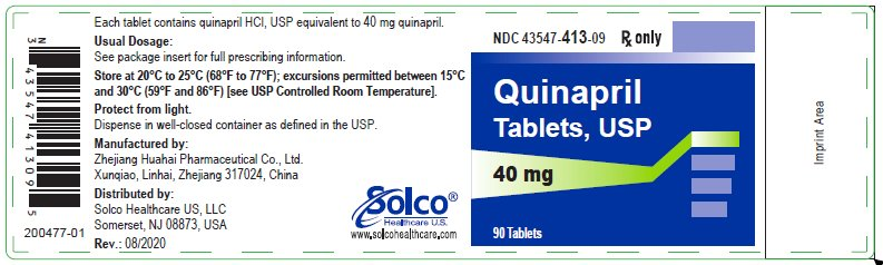 Container Label 40 mg