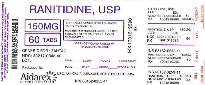 Ranitidine   Aidarex Pharmaceuticals Llc Breastfeeding