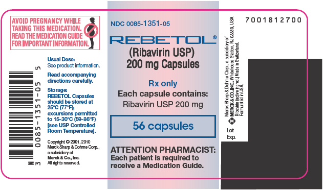 Principal Display Panel  - 56 Capsule Label