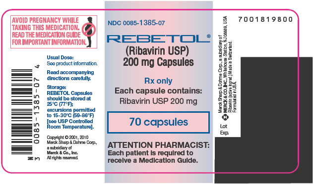 Principal Display Panel  - 70 Capsule Label