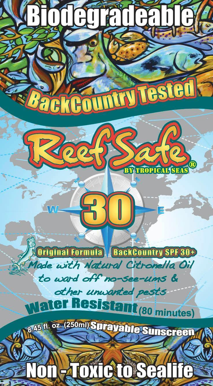 Reef Safe Spf 30   Homosalate, Octinoxate, Oxybenzone And Octisalate Spray while Breastfeeding