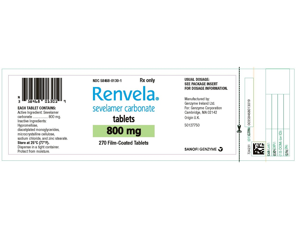 Package Label - Principal Display Panel - 800 mg Tablets, 270 per Bottle
