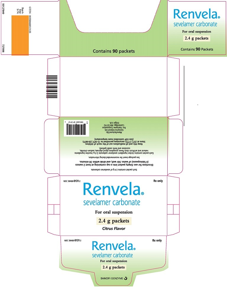 Package Label - Principal Display Panel - 2.4 g Packets, 90 per Carton