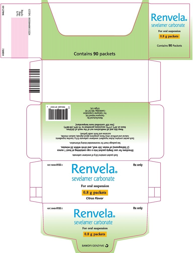 Package Label - Principal Display Panel - 0.8 g Packets, 90 per Carton