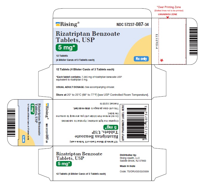 PACKAGE LABEL-PRINCIPAL DISPLAY PANEL - 5 mg 18 Tablets (3 Blister Cards of 6 Tablets each)