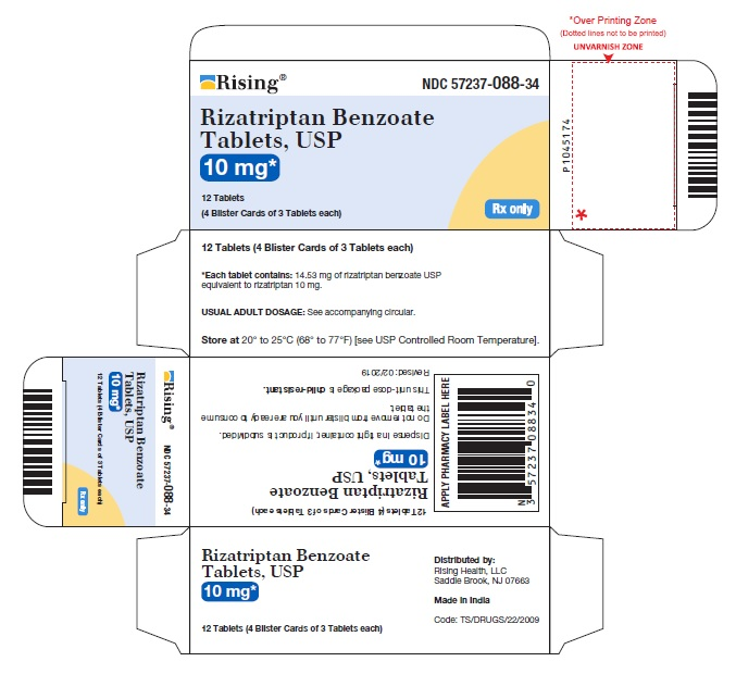 PACKAGE LABEL-PRINCIPAL DISPLAY PANEL -10 mg 18 Tablets (3 Blister Cards of 6 Tablets each)