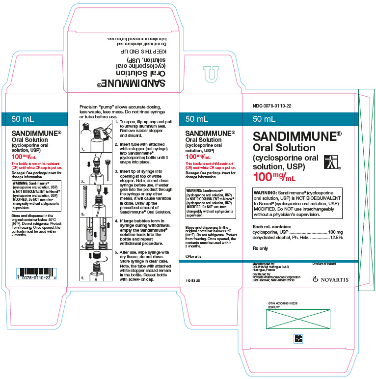 PRINCIPAL DISPLAY PANEL – PACKAGE LABEL – 100 MG ORAL SOLUTION