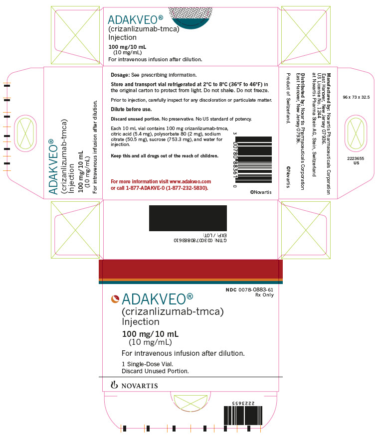 Rx Item-Adakveo (crizanlizumab-tmca) Injection BY Novartis Pharma