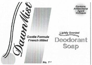 Dawnmist Deodorant Bar No. 1 1/2 | Triclosan Soap Breastfeeding