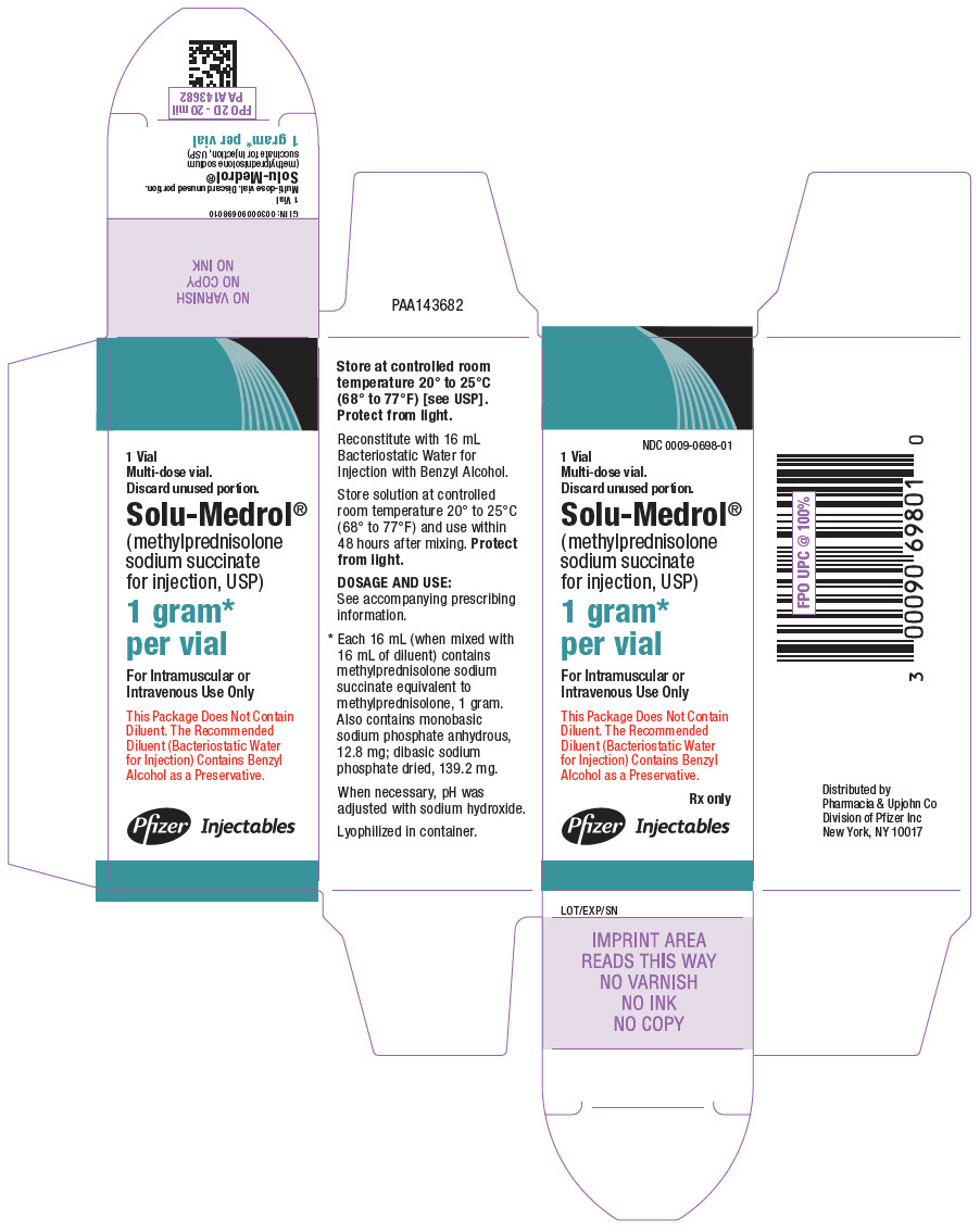 PRINCIPAL DISPLAY PANEL - 1 gram Vial Carton