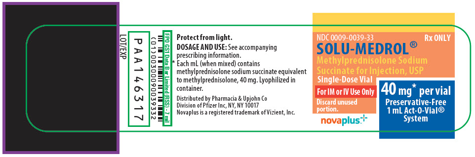 PRINCIPAL DISPLAY PANEL - 1 mL Vial Label