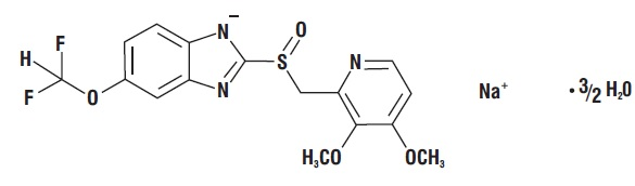spl-pantoprazole-for-injection-chemical-structure