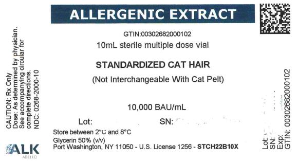 ALLERGENIC EXTRACT GTIN: 10mL sterile multiple dose vial STANDARDIZED CAT HAIR 10,000 BAU/mL