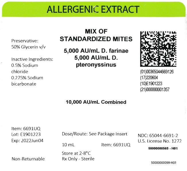 Standardized Mite Mixture - 5,000 AU/mL per Species