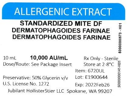 Standardized Mite DF - Bulk 30,000 AU/mL
