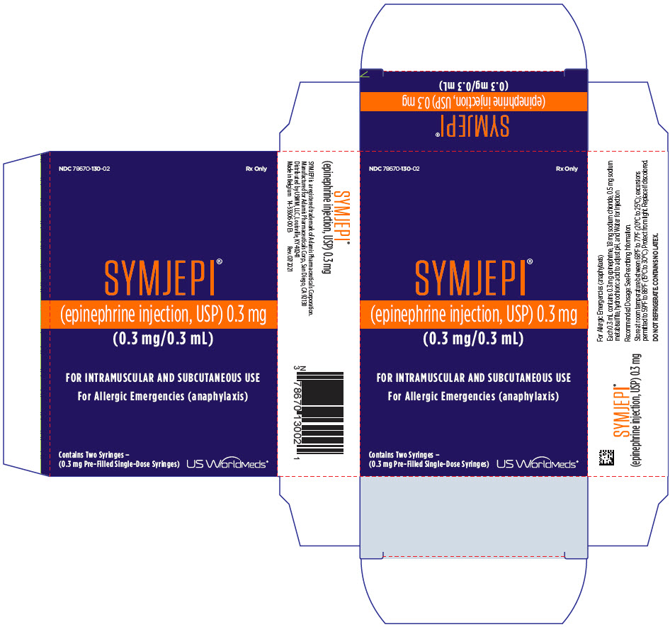 PRINCIPAL DISPLAY PANEL - 0.3 mg Syringe Carton