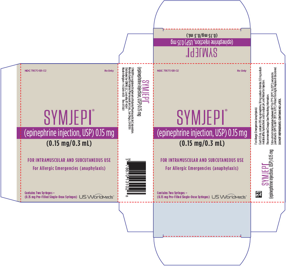 PRINCIPAL DISPLAY PANEL - 0.15 mg Syringe Carton