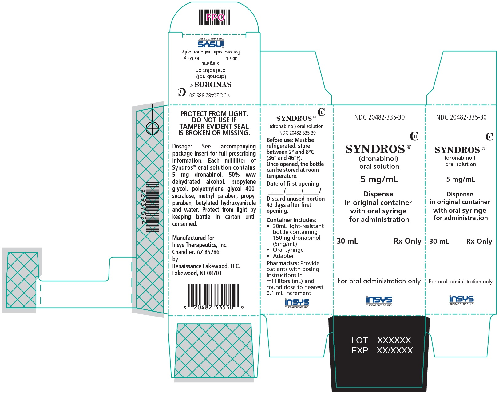 30 mL Carton Label