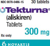 PRINCIPAL DISPLAY PANEL Package Label – 300 mg Rx Only  NDC 0078-0486-15 Tekturna® (aliskiren) Tablets 300 mg 30 tablets