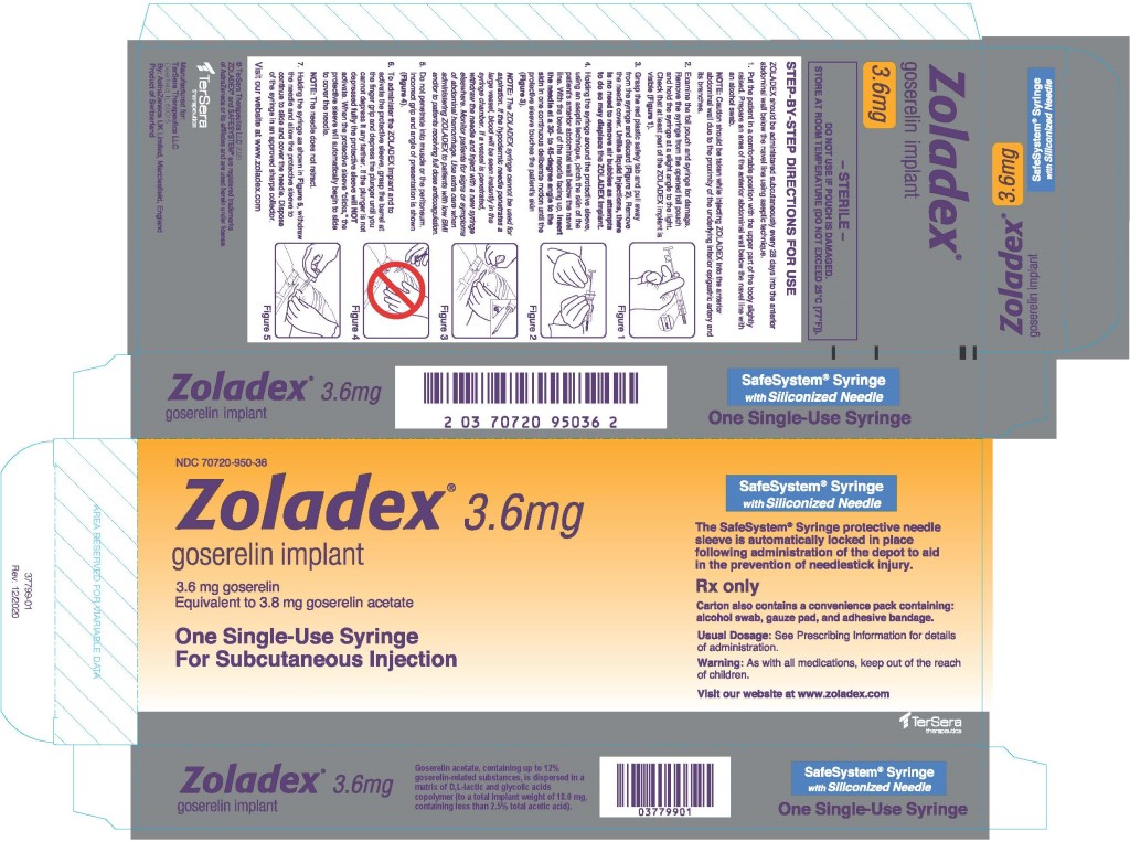 Principal Display Panel - Zoladex Carton Label