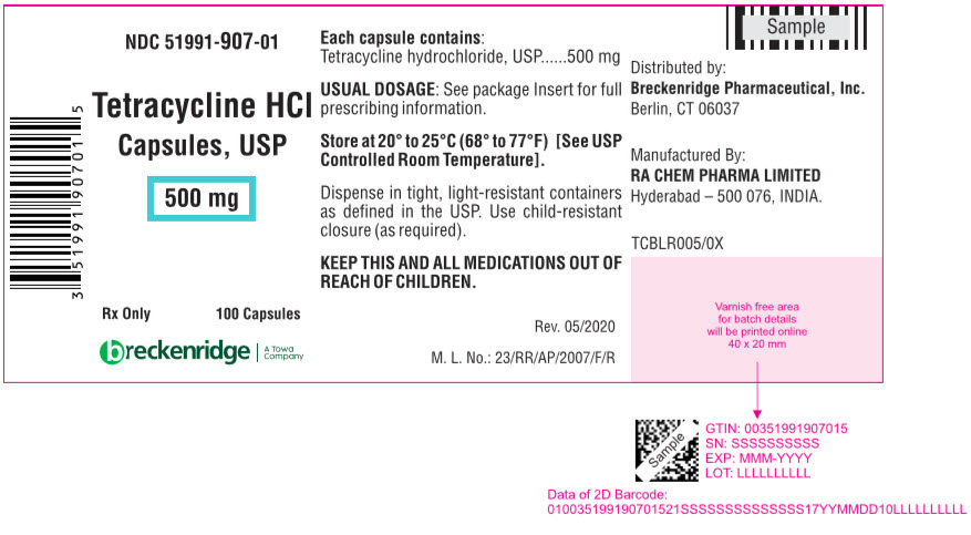 PRINCIPAL DISPLAY PANEL - 500 mg Capsule Bottle Label