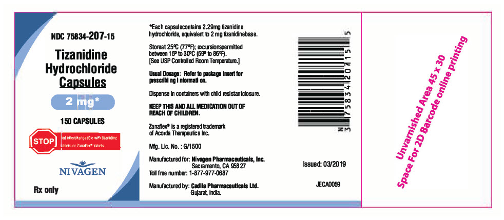 PRINCIPAL DISPLAY PANEL - 2 mg Capsule Bottle Label
