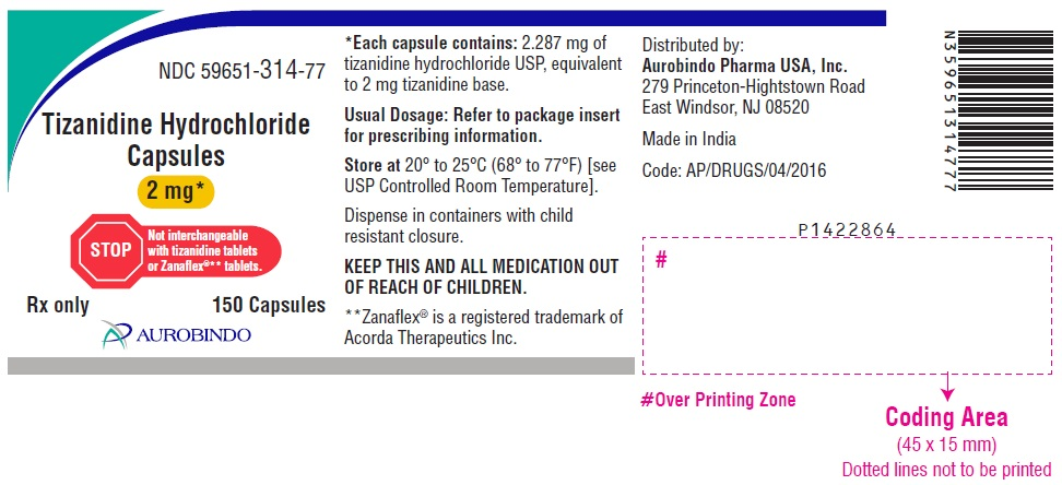 PACKAGE LABEL-PRINCIPAL DISPLAY PANEL - 2 mg (150 Capsules Bottle)