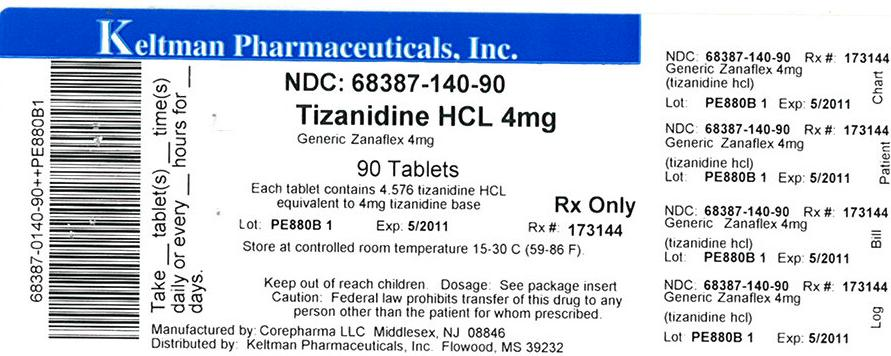 Label image for 4mg