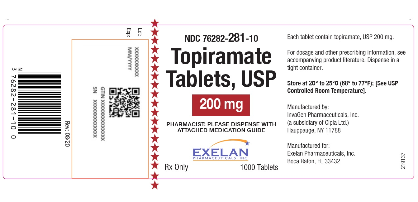 PACKAGE LABEL-PRINCIPAL DISPLAY PANEL - 200 mg (60 Tablets Bottle)