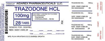 Is Trazodone Hydrochloride Trazodone Hydrochloride 1 Meq safe while breastfeeding
