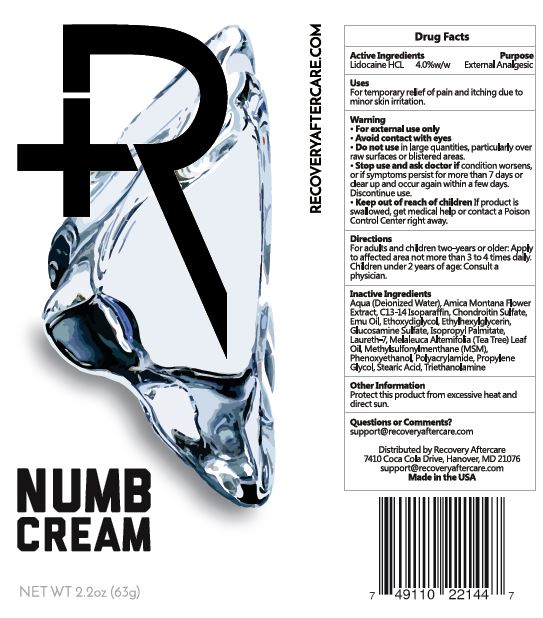 Recovery Numb | Lidocaine Hydrochloride Cream while Breastfeeding