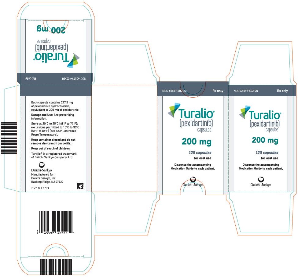 Rx Item-TURALIO- pexidartinib capsule 200MG 120 CAPS BY DAIICHI SANKYO