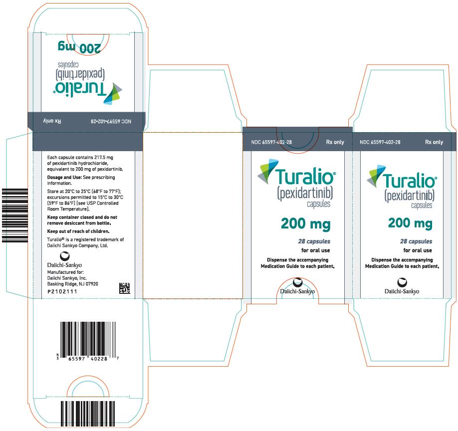 Rx Item-TURALIO- pexidartinib capsule 200MG 28 CAPS BY DAIICHI SANKYO