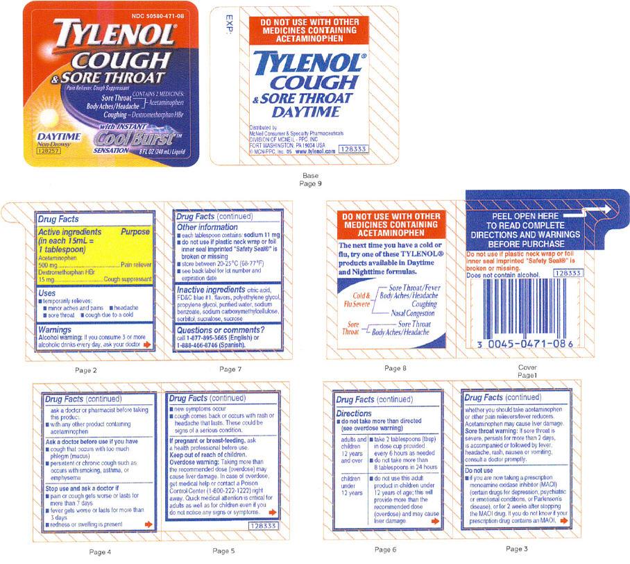 Tylenol Cough And Sore Throat | Acetaminophen And Dextromethorphan Hydrobromide Liquid Breastfeeding