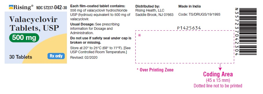 PACKAGE LABEL-PRINCIPAL DISPLAY PANEL - 500 mg