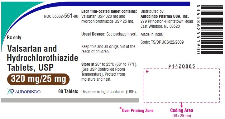 PACKAGE LABEL-PRINCIPAL DISPLAY PANEL - 320 mg/25 mg (90 Tablets Bottle)