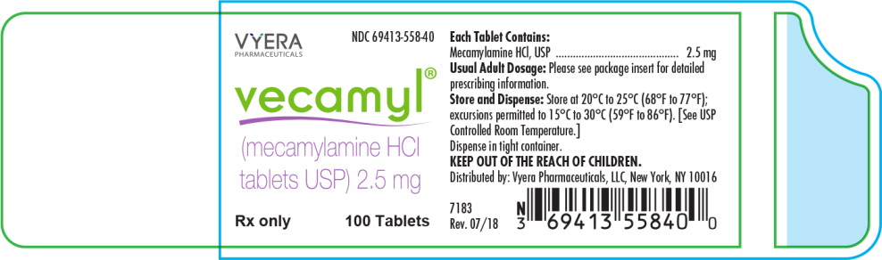 Principal Display Panel - Vecamyl Bottle Label