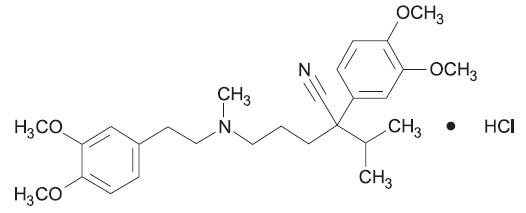 verapamil-structure