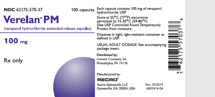 PRINCIPAL DISPLAY PANEL - 100 mg Capsule Bottle Label