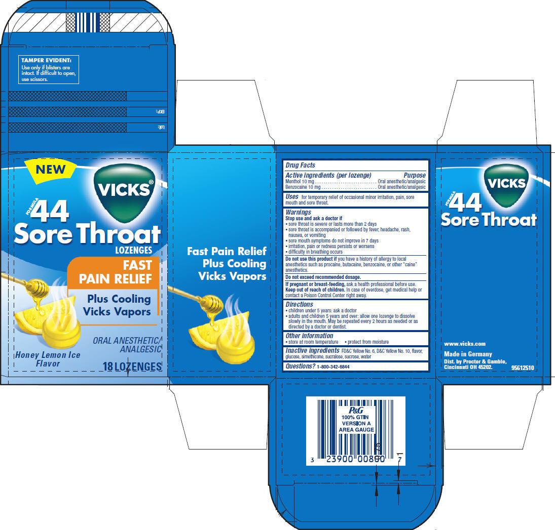 Vicks Formula 44 Sore Throat | Menthol And Benzocaine Lozenge Breastfeeding